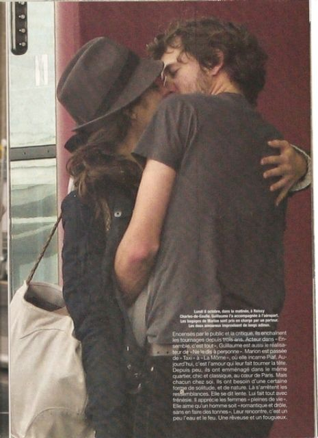Marion Cotillard Guillaume Canet Kiss Airport Looks Inspiracao