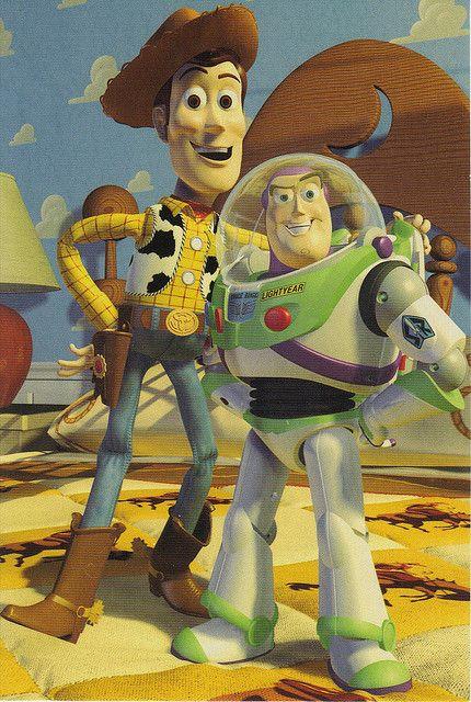 Michel Et Michel Faux Raccord : michel, raccord, Woody, Lightyear, Postcard, Buzz,, Story,, Pixar