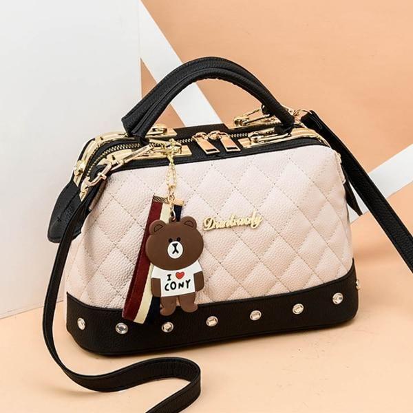 Photo of HJPHOEBAG Brand Women  Leather Designer Handbags High Quality Shoulder Bags Ladies Handbags Fashion brand PU women bags YC286 – Gray