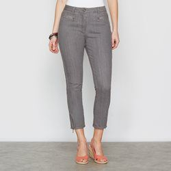 Pantalones Pesqueros Mujer Buscar Con Google Cropped Trousers Stretch Denim Trousers