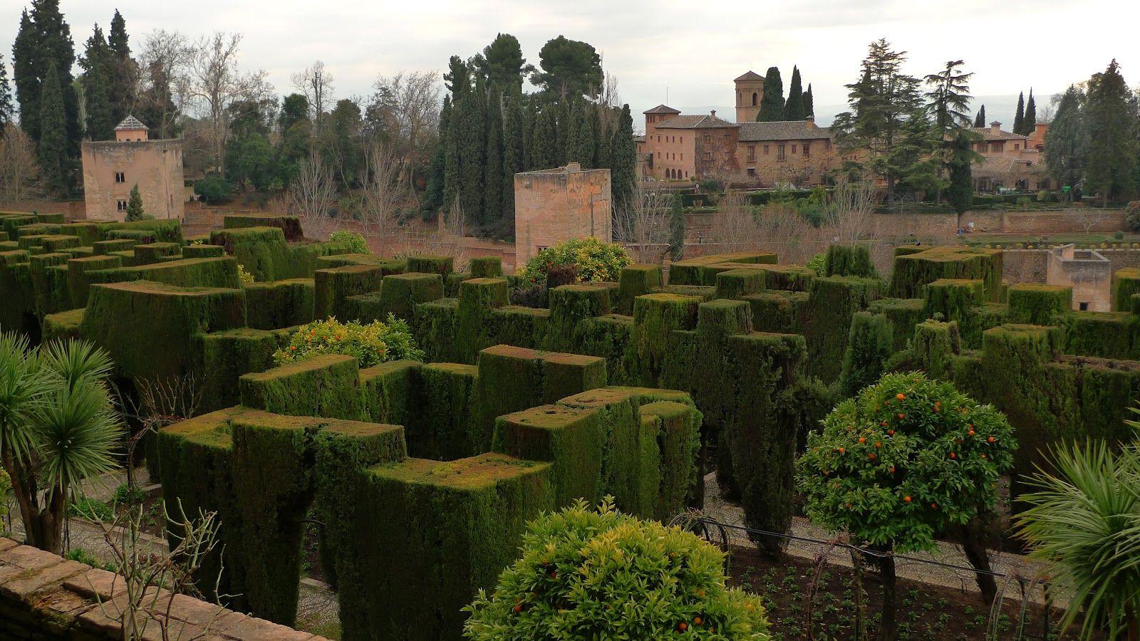 Jeffrey Bale\'s World of Gardens. General life The Alhambra, Granada ...