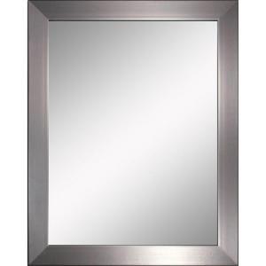Deco Mirror Modern 26 In X 32 In Mirror In Brushed Nickel 8882