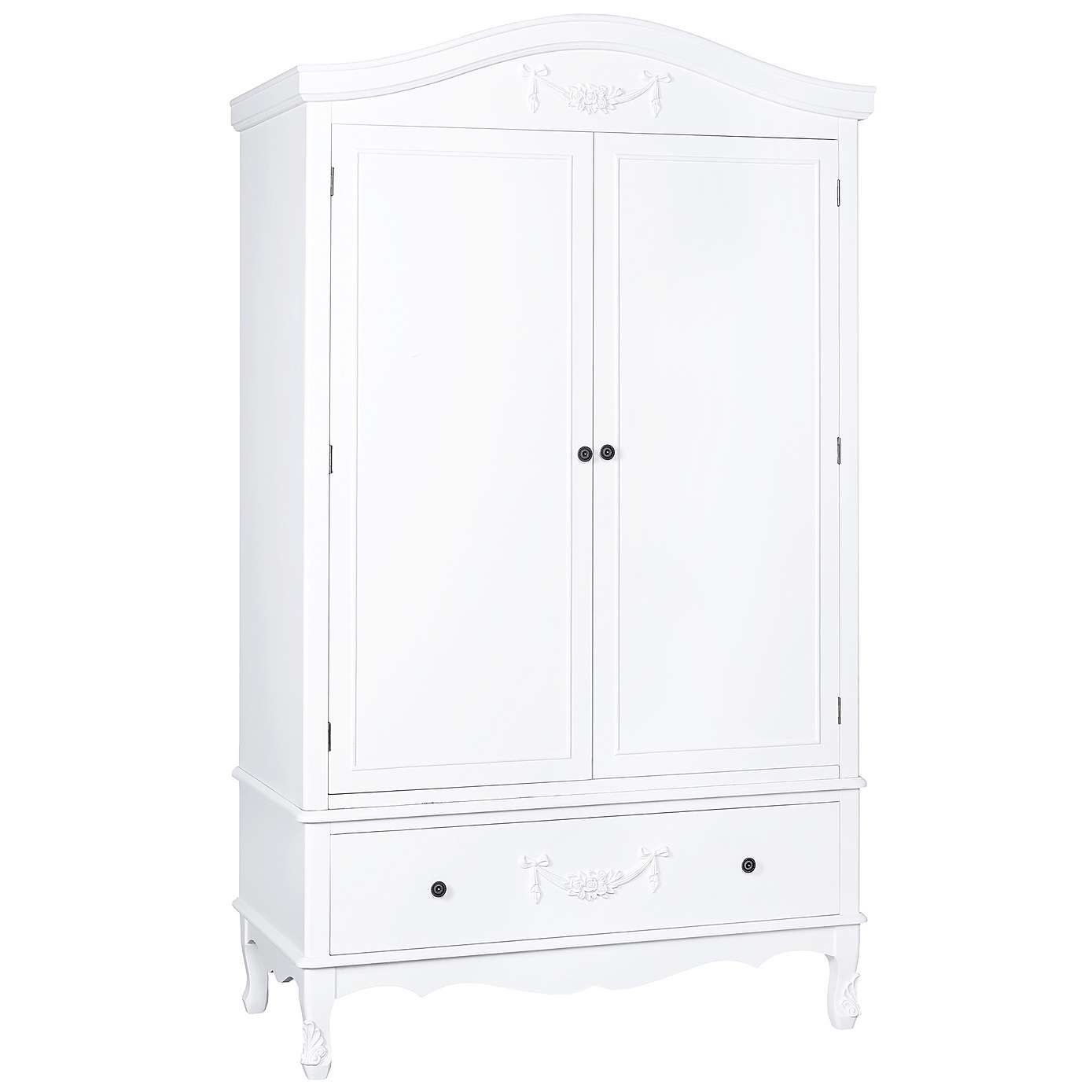 Toulouse White Double Wardrobe White Double Wardrobe Double  # Muebles Toulouse