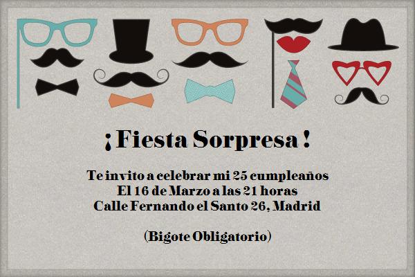 Mustache Party Celebra Con Estilo Con Las Invitaciones Y