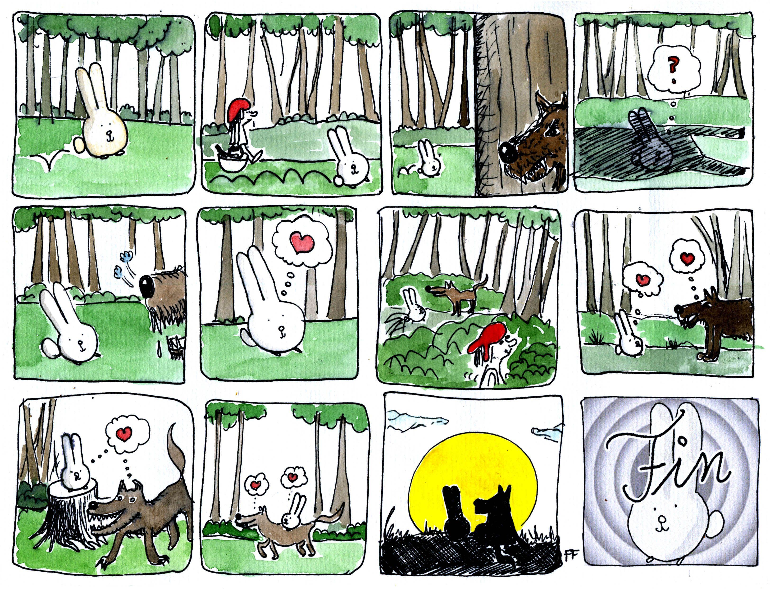 Love Bunny The Big Bad Wolf Big Bad Wolf Bad Wolf Bunny