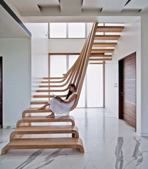 the most creative stairs designs ideas to climb to the second floor