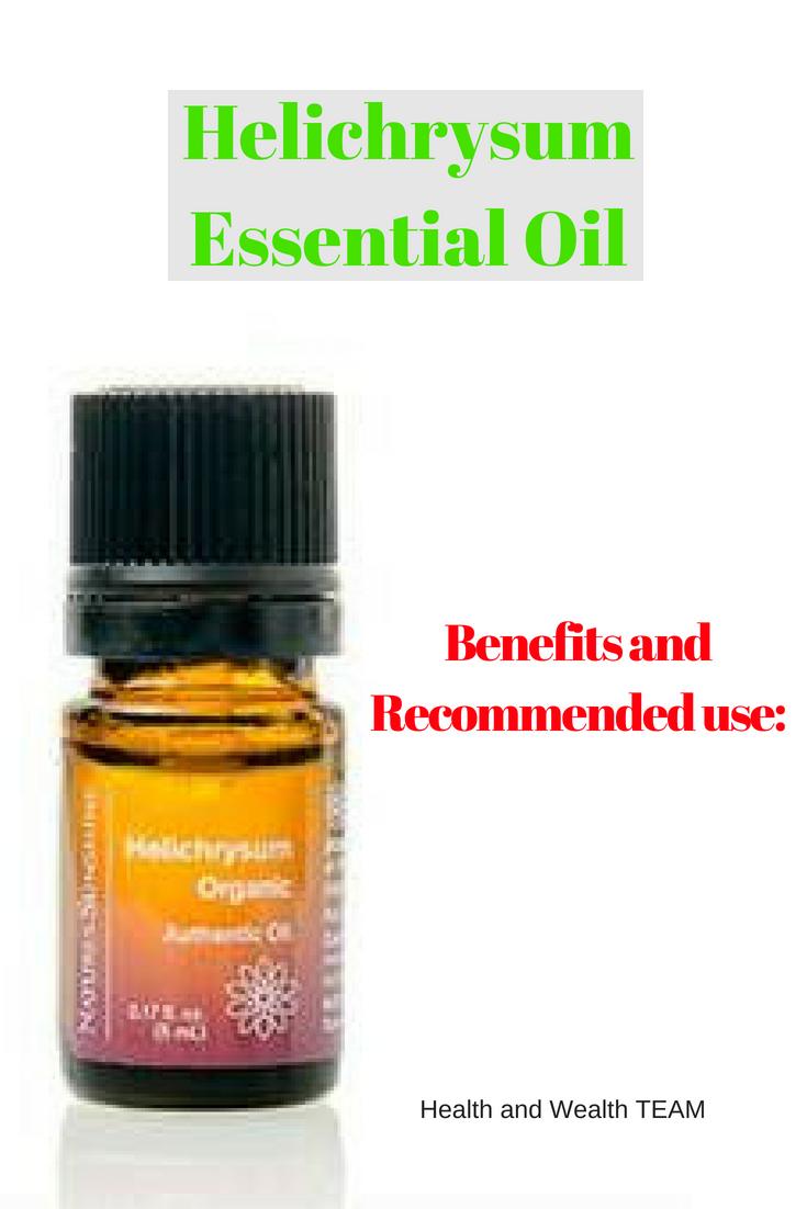 Helichrysum Essential Oil Helichrysum essential oil