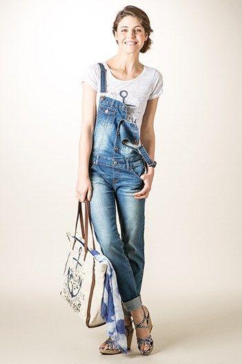 Salopette jean femme PARIS-KATIA   salopette   Pinterest   Wardrobes 46adb23a7d15