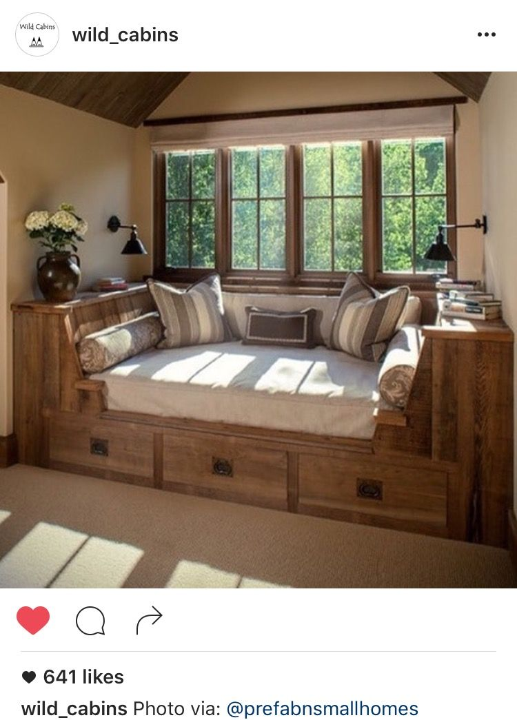 Upper Reading Room rustic bedroom This would work