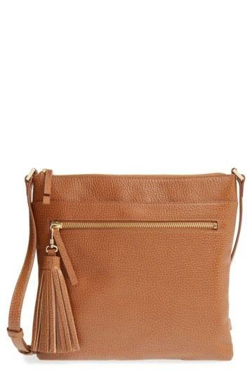 2cf55f7ea0 Halogen | Tasseled Leather Crossbody Bag | Nordstrom Rack wishlist ...