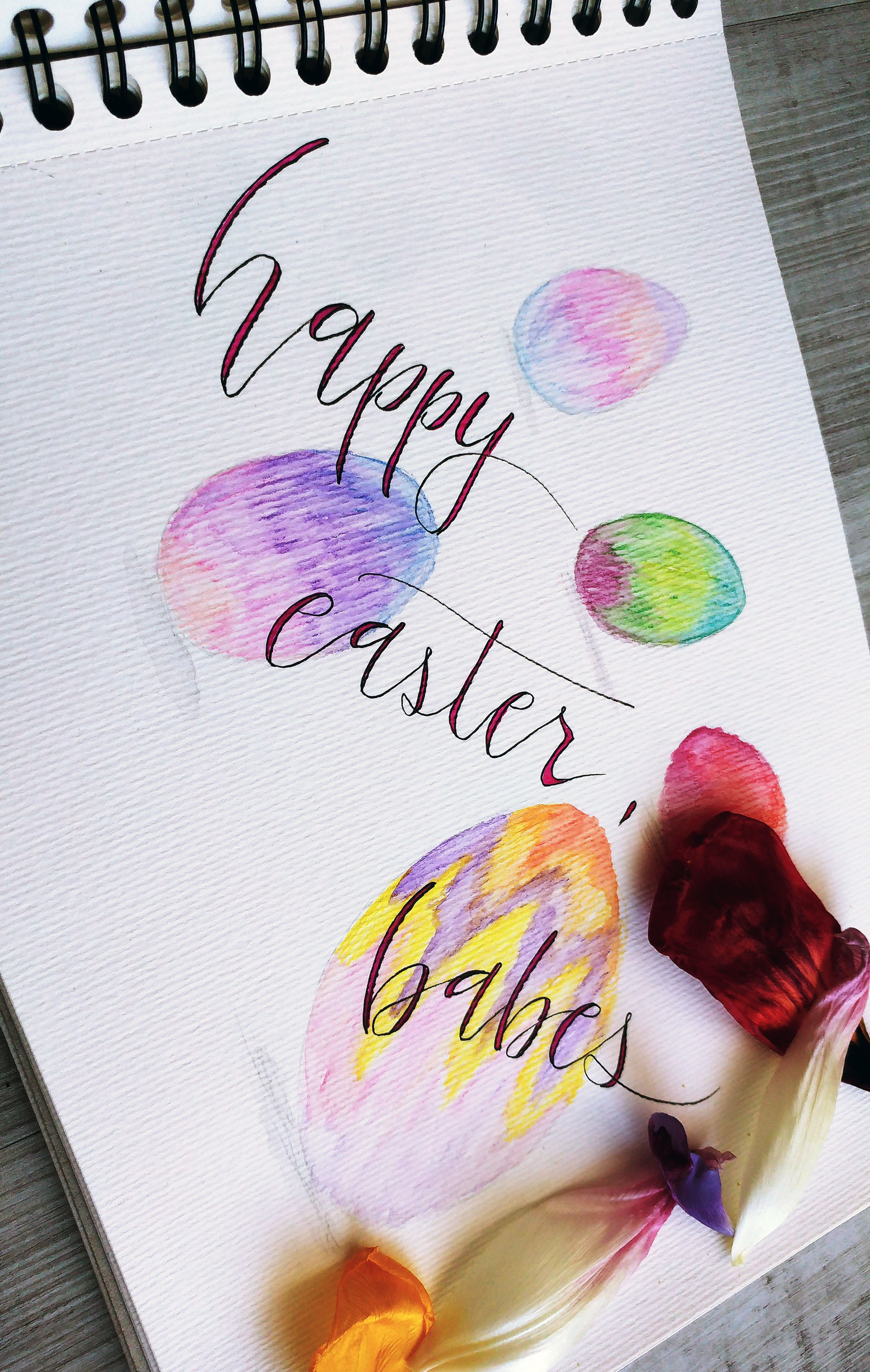 Handlettering Lettering Aquarellfarben Diy Lettering