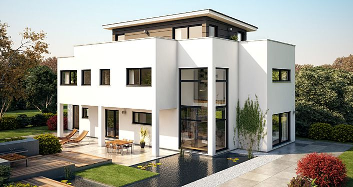 Architekten-Haus Flaviano -Exclusive Architekten-Villa mit ...