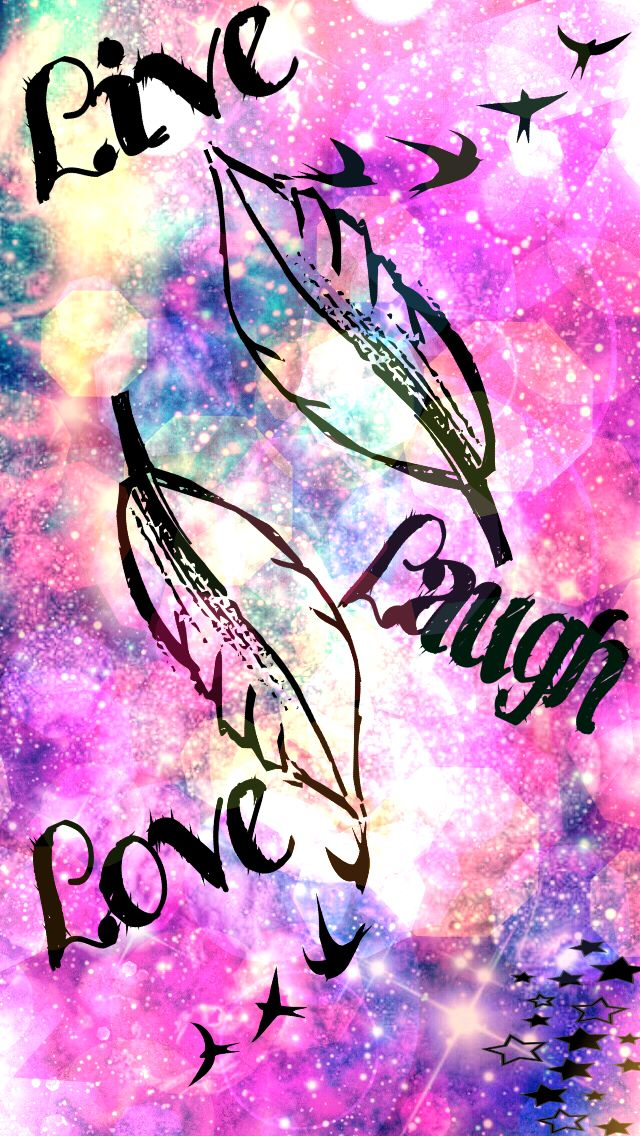Live laugh love Hispter Wallies... create by me