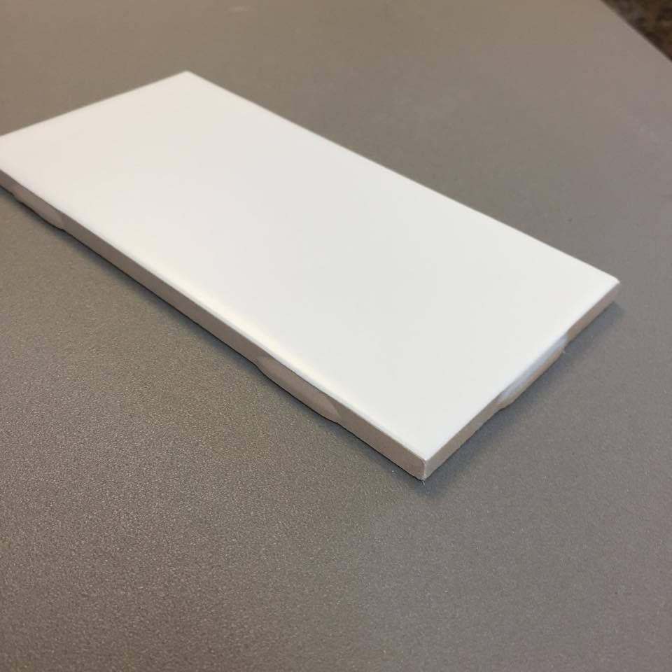 Clearance metro subway tile white matte 3 x 6 ceramic wall tile clearance metro subway tile white matte 3 x 6 ceramic wall tile 199 per square foot dailygadgetfo Image collections