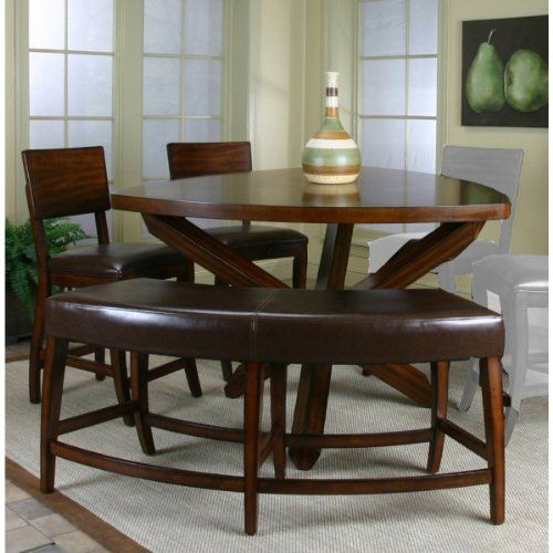 Amazing Cramco Shiraz Counter Height Triangle Dining Table Only   Pictures