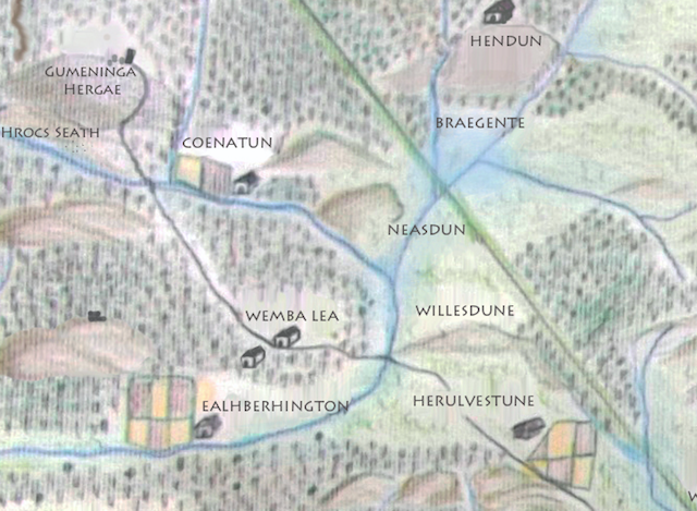 Northwest London With The Noseshaped Hill Neasdun Wemba - Map of north london areas