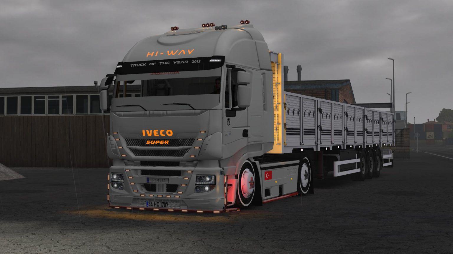 Iveco Hi Way Custom 1 37 Ets 2 Trucks Ets 2 Mods Custom