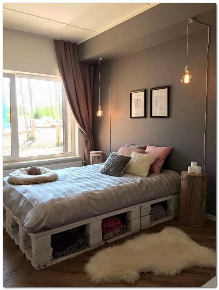 31 Amazing Pallet Bedroom Design Ideas Bedroomideas Bedroomdecor