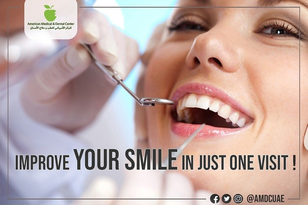 Improve Your Smile In Just One Visit! 😁 Our professional