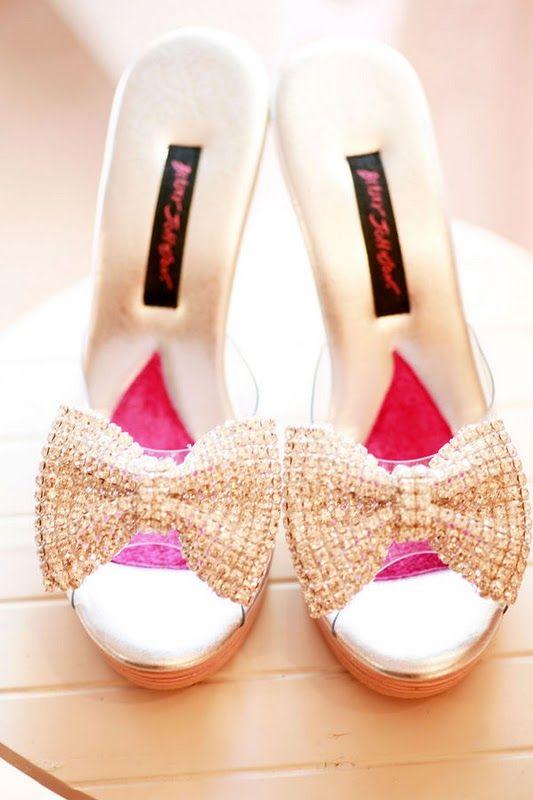sweet bow heels