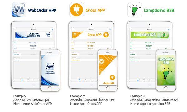 Weborder APP personalizzabile