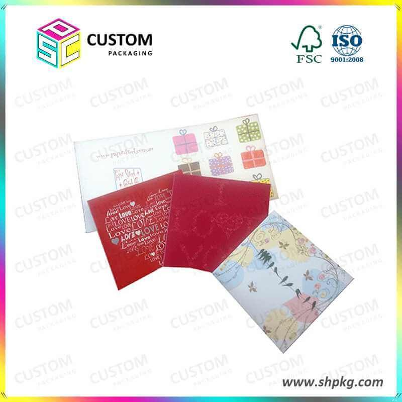 Rigid Cardboard Gift Boxes Printing Business Cards Booklet