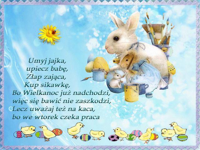 Wierszyki Wielkanocne Easter Printables Easter Christmas