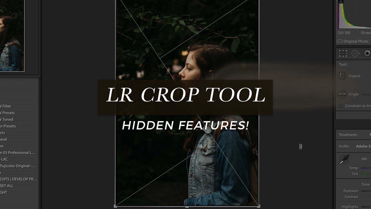 Lightroom Crop Overlays Golden Ratio Crop Guide + More