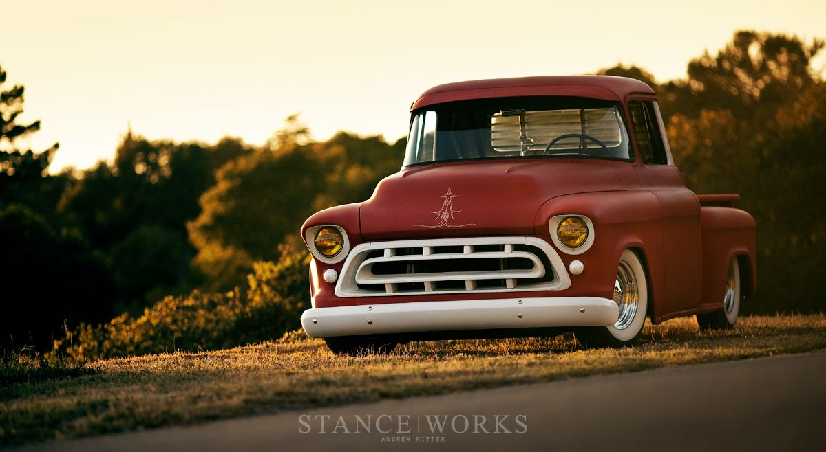 Truck 57 chevy truck bed wood : 1957-chevy-stepside-restoration | Wheels | Pinterest | Chevy ...