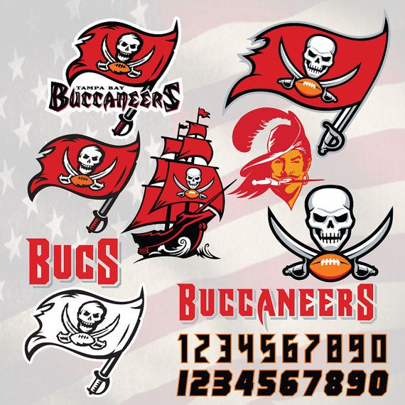 Tampa Bay Buccaneers Football Logo Svg Digital Download Svg Dxf Eps Pdf For Use With Cameo Tampa Bay Buccaneers Football Buccaneers Football Football Logo