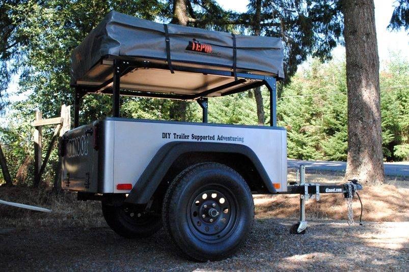 Compact Camping Concepts Diy camper trailer, Trailer