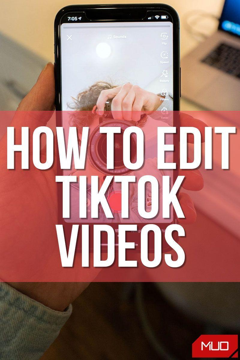 How To Edit Tiktok Videos In 2021 Social Media Tutorial Video Editing Apps Social Media