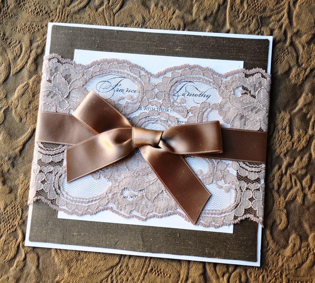 DIY Wedding Invitation in #Los Angeles, CA. http://www ...