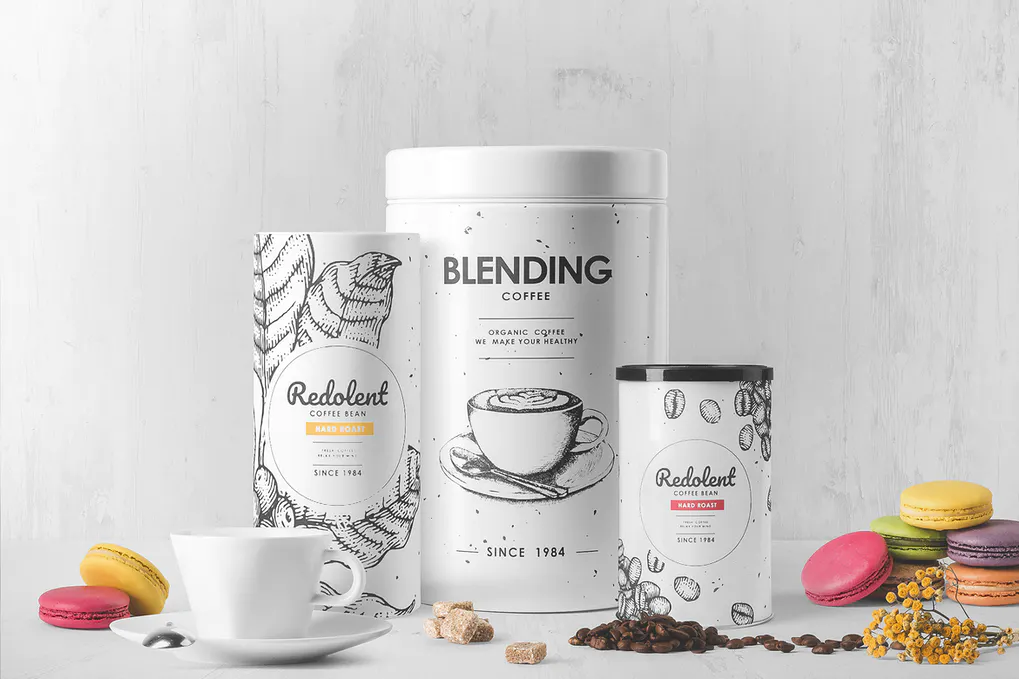Download 20 Best Coffee Packaging Mockup Templates Design With Red Packaging Mockup Coffee Packaging Drinks Packaging Design