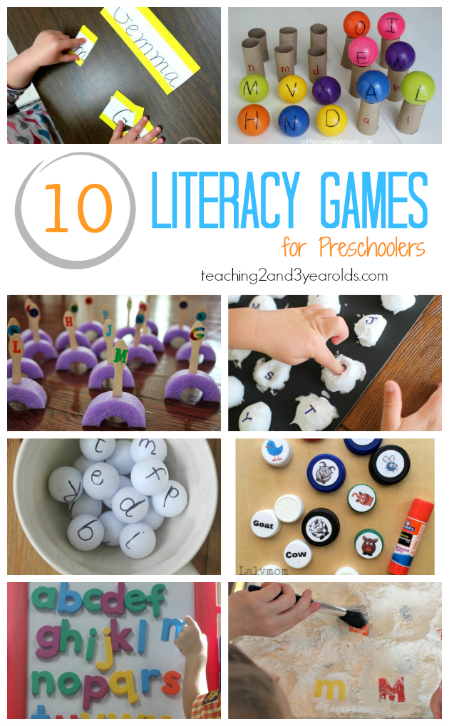 How to Build Preschool Literacy Skills with Games
