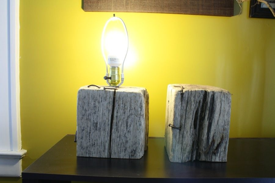 Diy Wooden Lamp Base One Day This Will Come In Handy I Like The