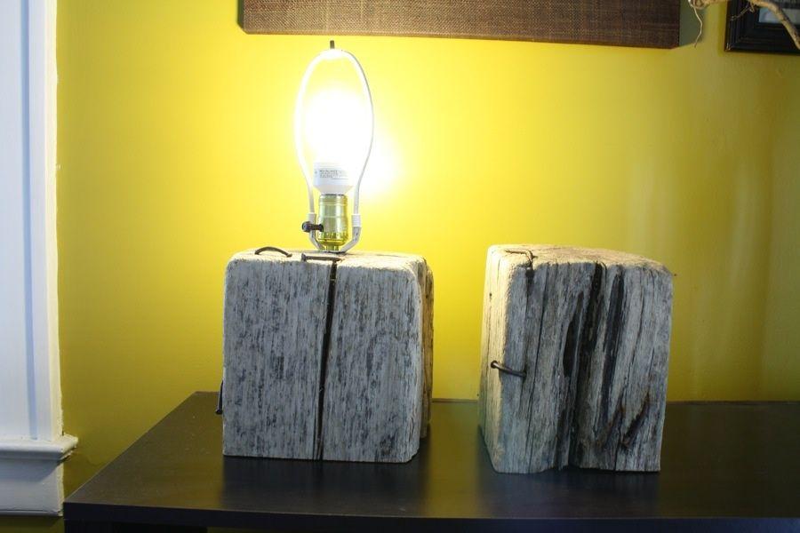DIY Wooden Lamp Base | I heart homewares | Pinterest | Wooden lamp ...