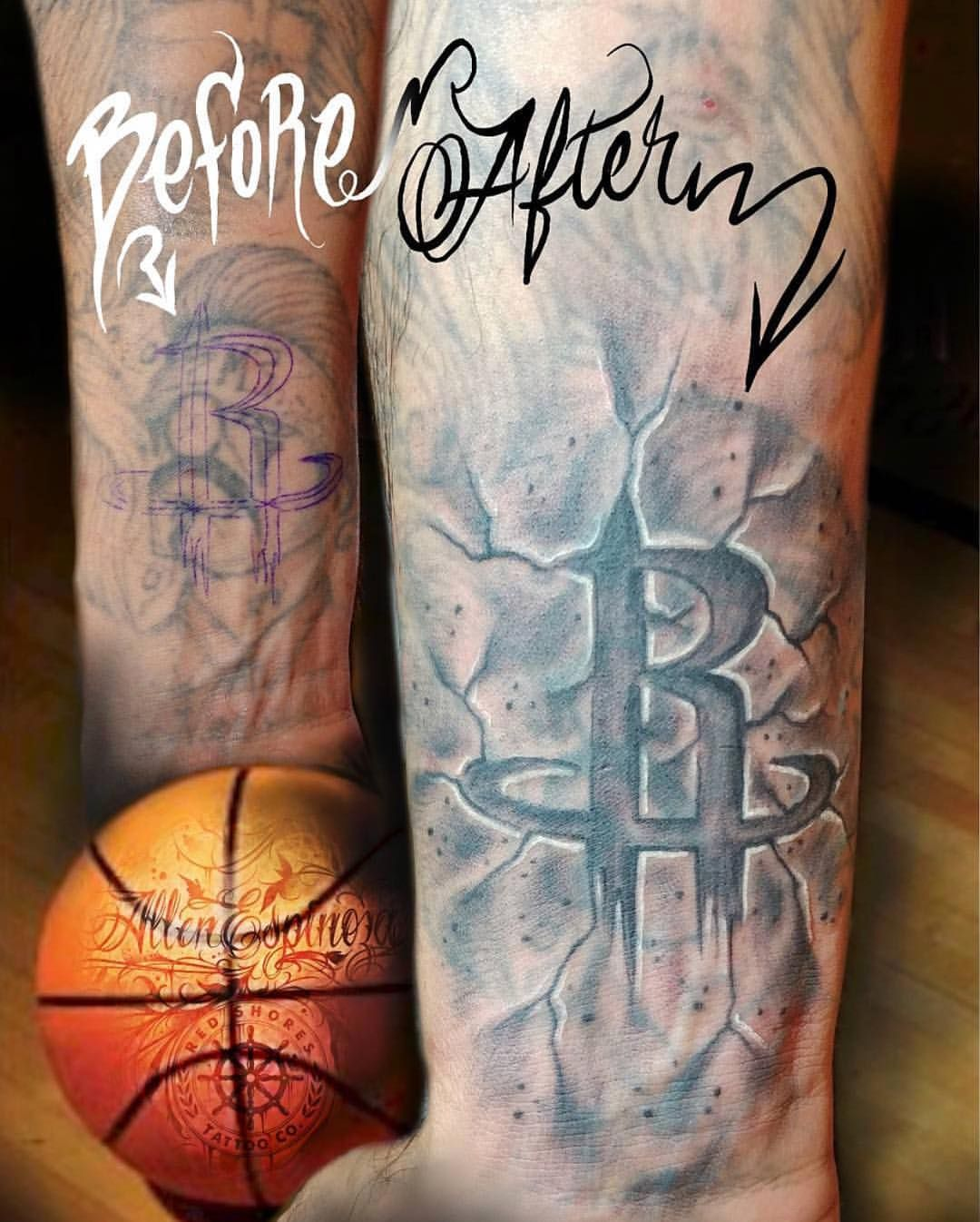 Houston Rockets Tattoo Designs