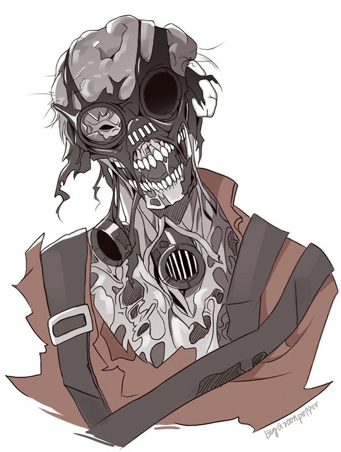 tf2 zombie pyro by