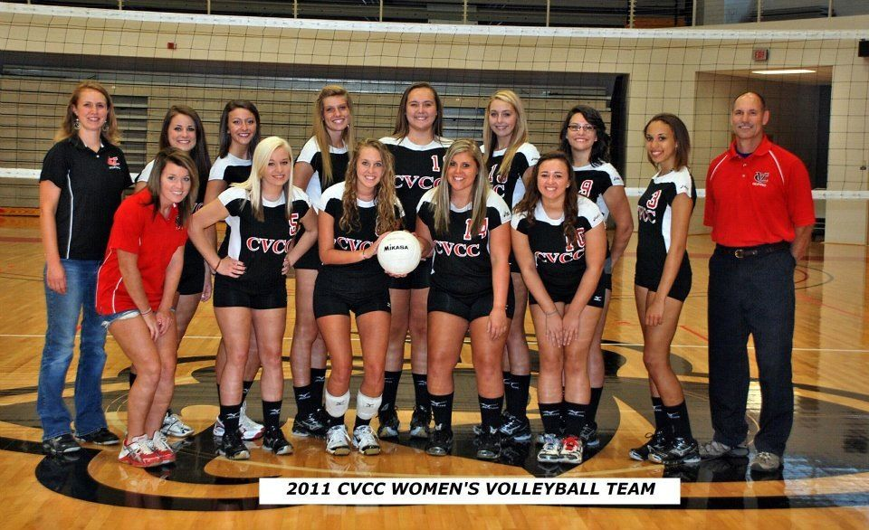 Cvcc 2011 Volleyball Team Women Volleyball Volleyball