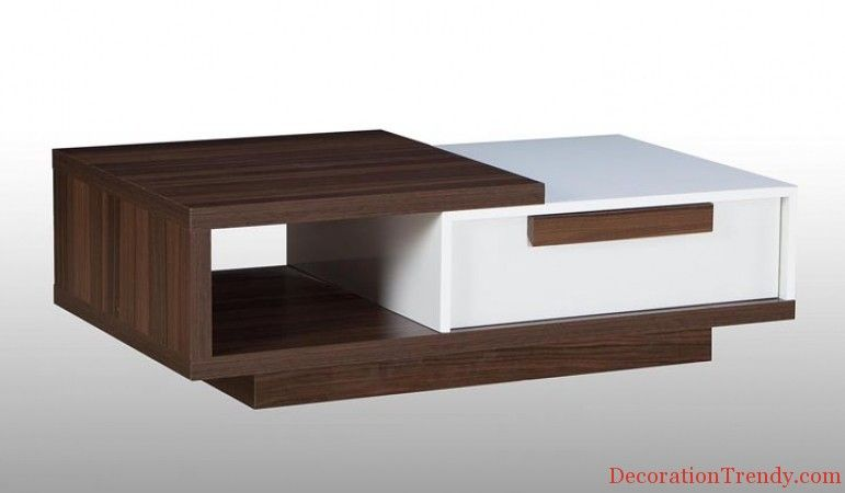 Metal Modern Coffee Table Design For 2014