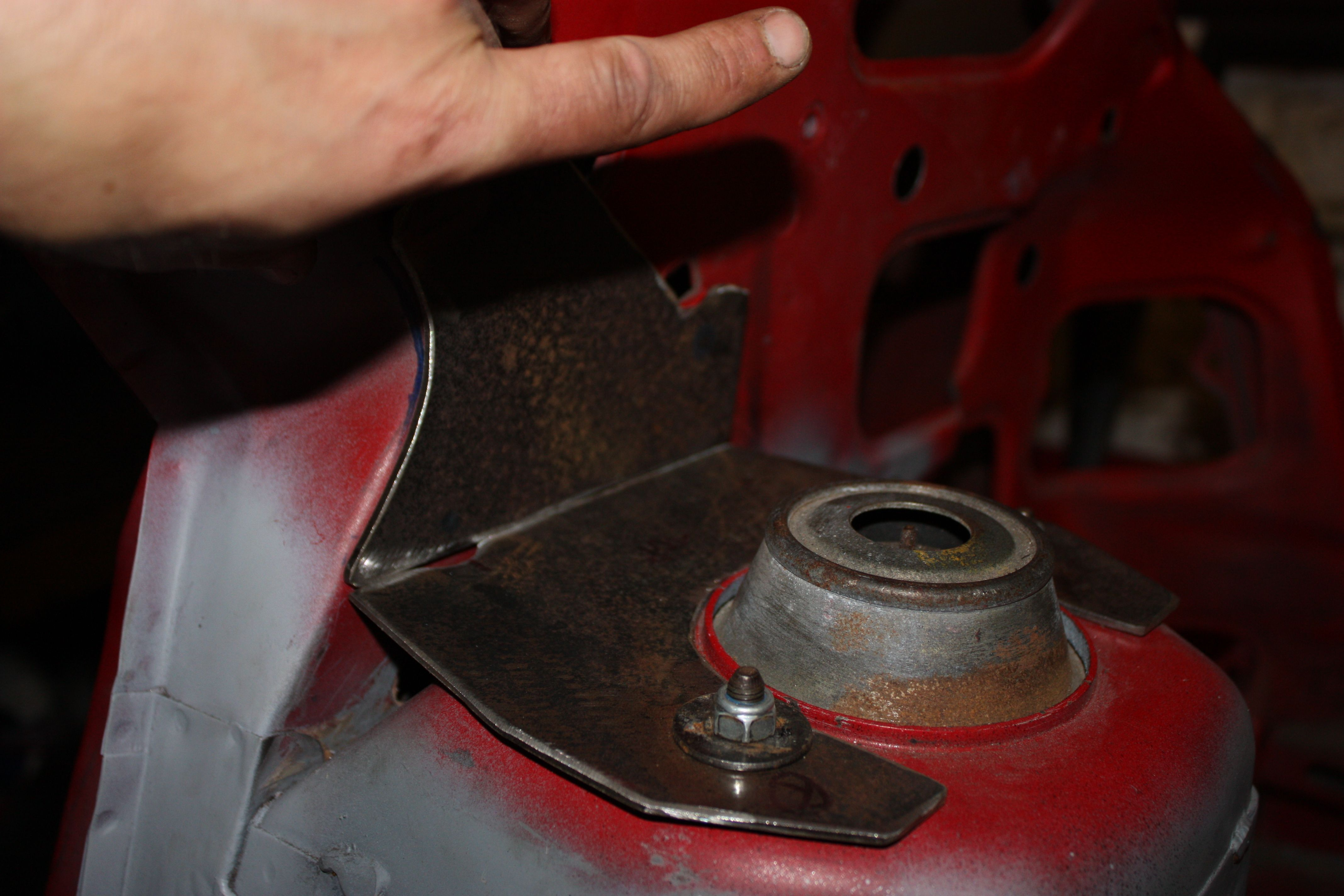 Making support brackets out of 3mm metal. | Lancia Delta Integrale ...