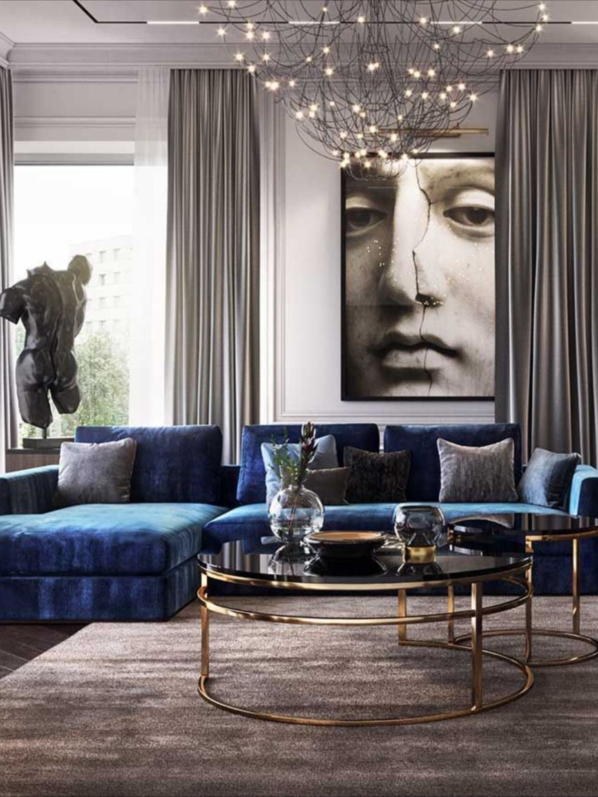 Unraveling A Luxury Living Room In A 15 Million Mansion In Capri Living Room Design Decor Luxury Living Room Home Room Design Og double d living luxury