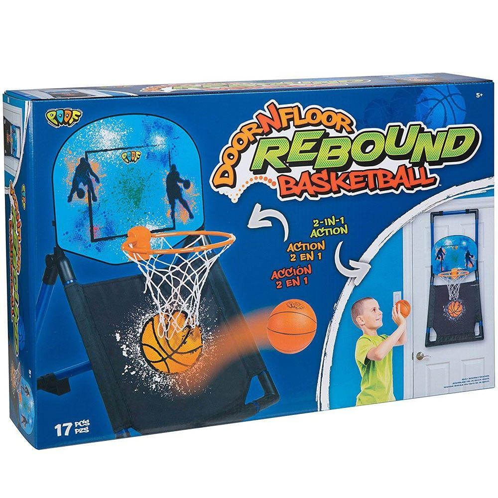 Door N Floor Rebound Basketball Indoor Sport Set Basketball Games For Kids Rebounding Basketball Kit