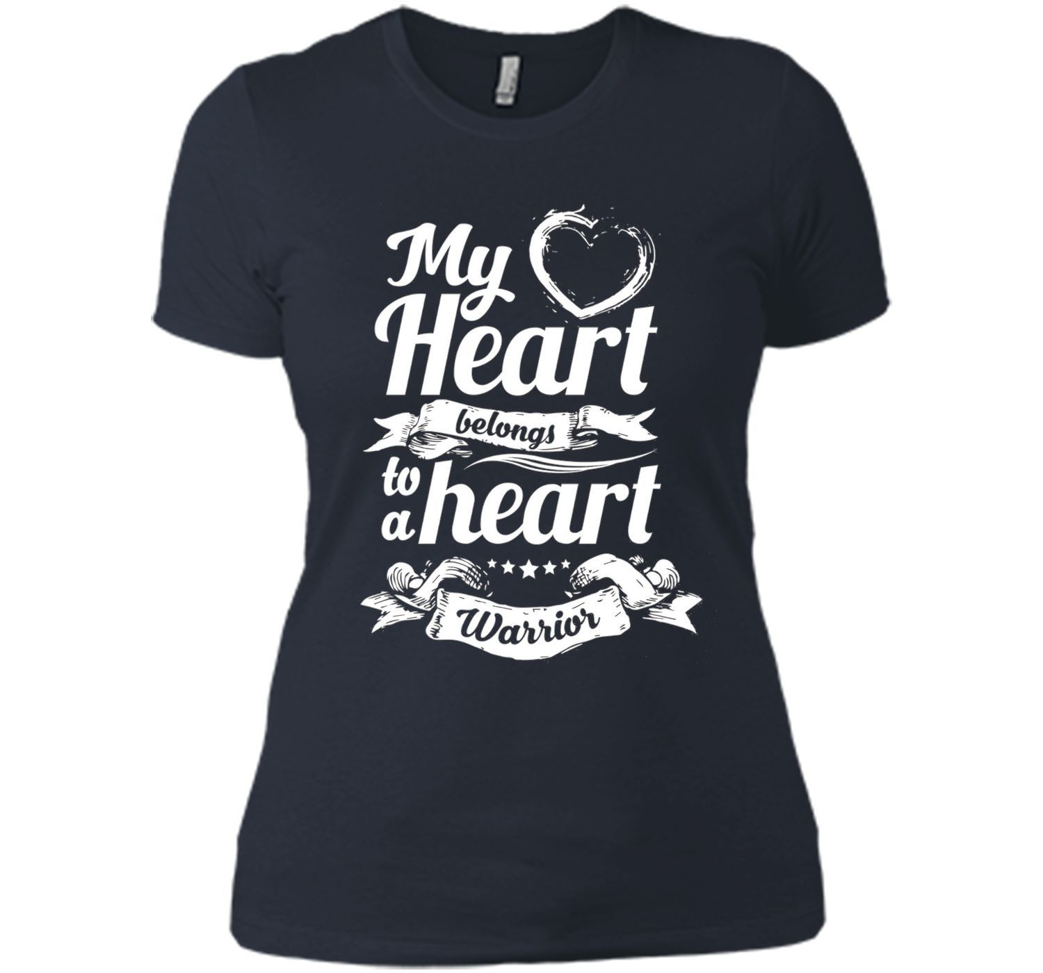 CHD Shirts - My Heart Belongs To A Heart Warrior