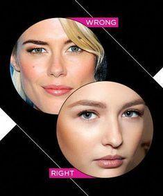 People with dark brown hair should not use black or dark ...