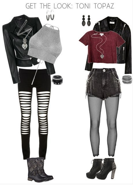 Teen DIY: GET THE LOOK: TONI TOPAZ - Clothing - #Clothing #DIY #Teen #TONI #TOPAZ #emodresses
