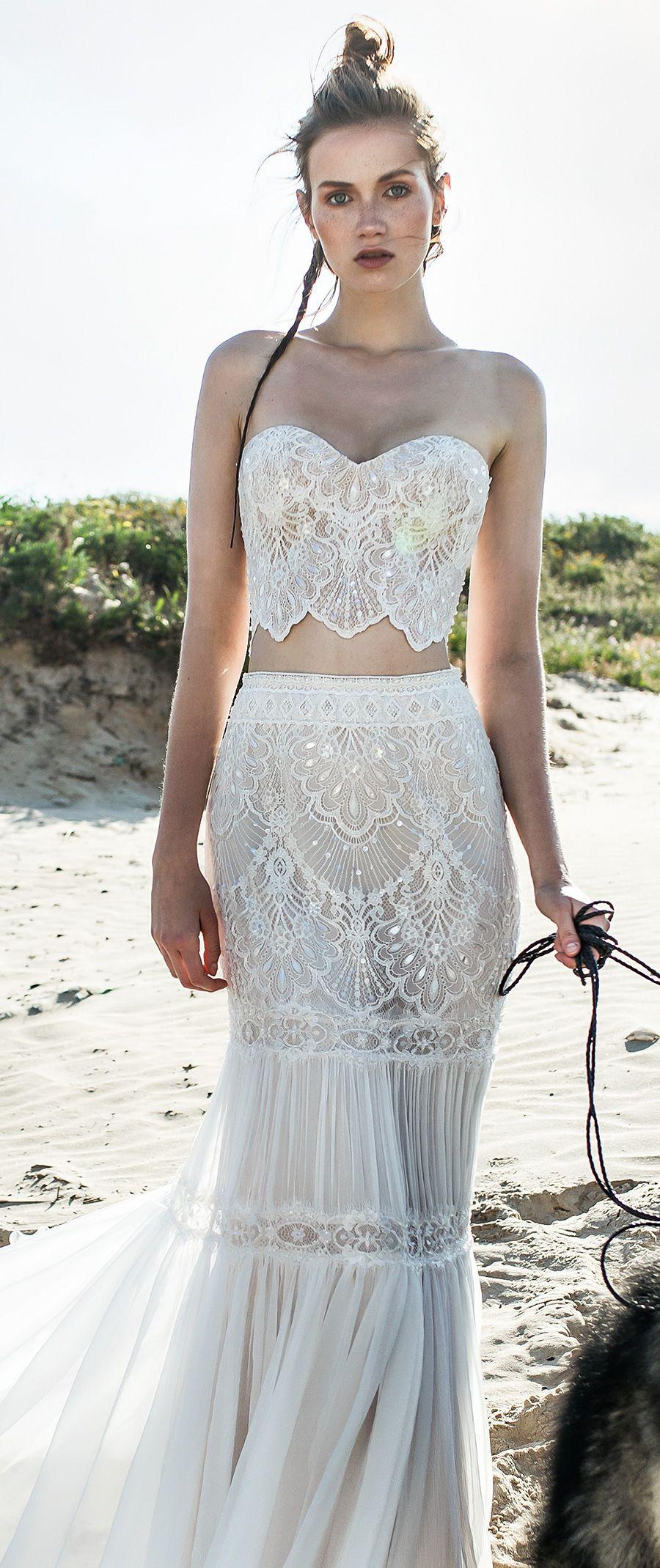 60+ Crop Top Wedding Dresses Ideas Atemberaubende