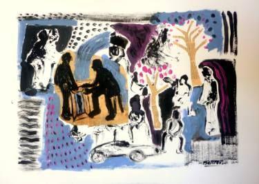 "Saatchi Art Artist Pierre-Yves Beltran; Painting, ""wink:""bonjour monsieur Courbet"""" #art"