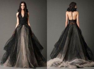 Une Robe De Mariée Noire Nano 2013 Robe Mariage Noir